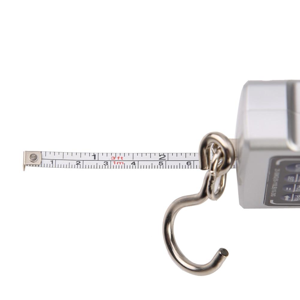 50 kg-os mini digitális mérlegű LCD háttérvilágítású - Mérőműszerek - Fénykép 6