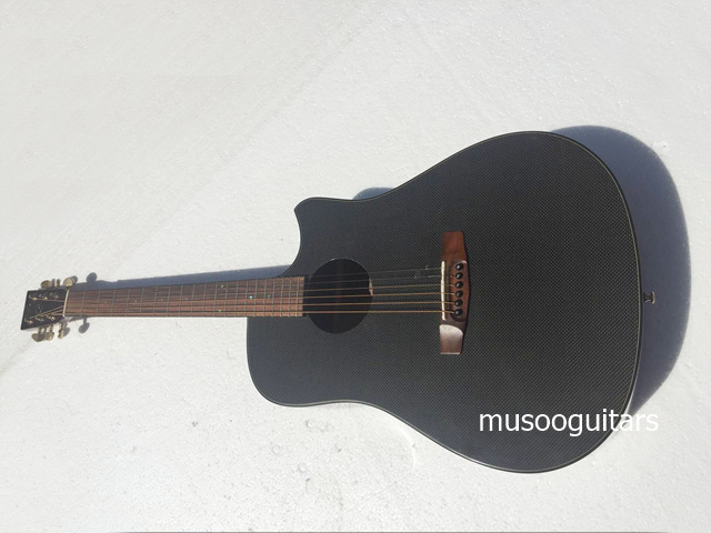 musoo brand acoustic guitar with carbon fiber top in guitar from sports entertainment on. Black Bedroom Furniture Sets. Home Design Ideas