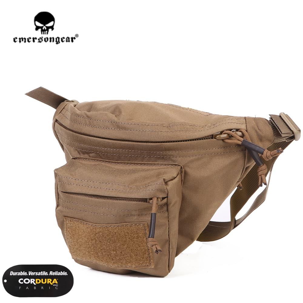 Emersongear Emerson Recon sac de taille poche tactique Fanny Hip Pack sac de ceinture avec sangle de taille amovible MOLLE