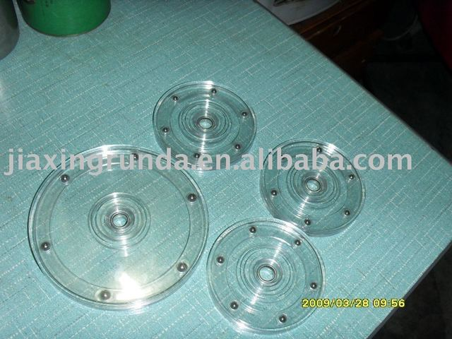 Wholesale sales, plastic turntable, rotate, acrylic runner, plastic turntable6""