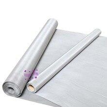 100 センチメートルx 1000 センチメートルステンレス鋼フィルター 80 100 120 200 300 400 500 メッシュ 180 25 ミクロンろ過スクリーニングシートスクリーニングフィルター