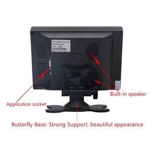 "Image 4 - 7 ""LCD מגע צג עבור פטל Pi HDMI + VGA + AV ממשק תצוגת מגע קיבולי מסך מודול רכב גיבוי הפוך"