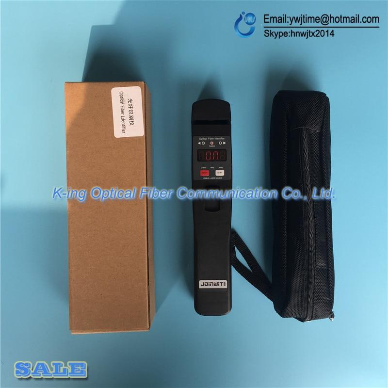 Livraison gratuite identificateur de Fiber optique JW3306D identificateur de Fiber optique en direct avec localisateur de défaut visuel 10 mw intégré