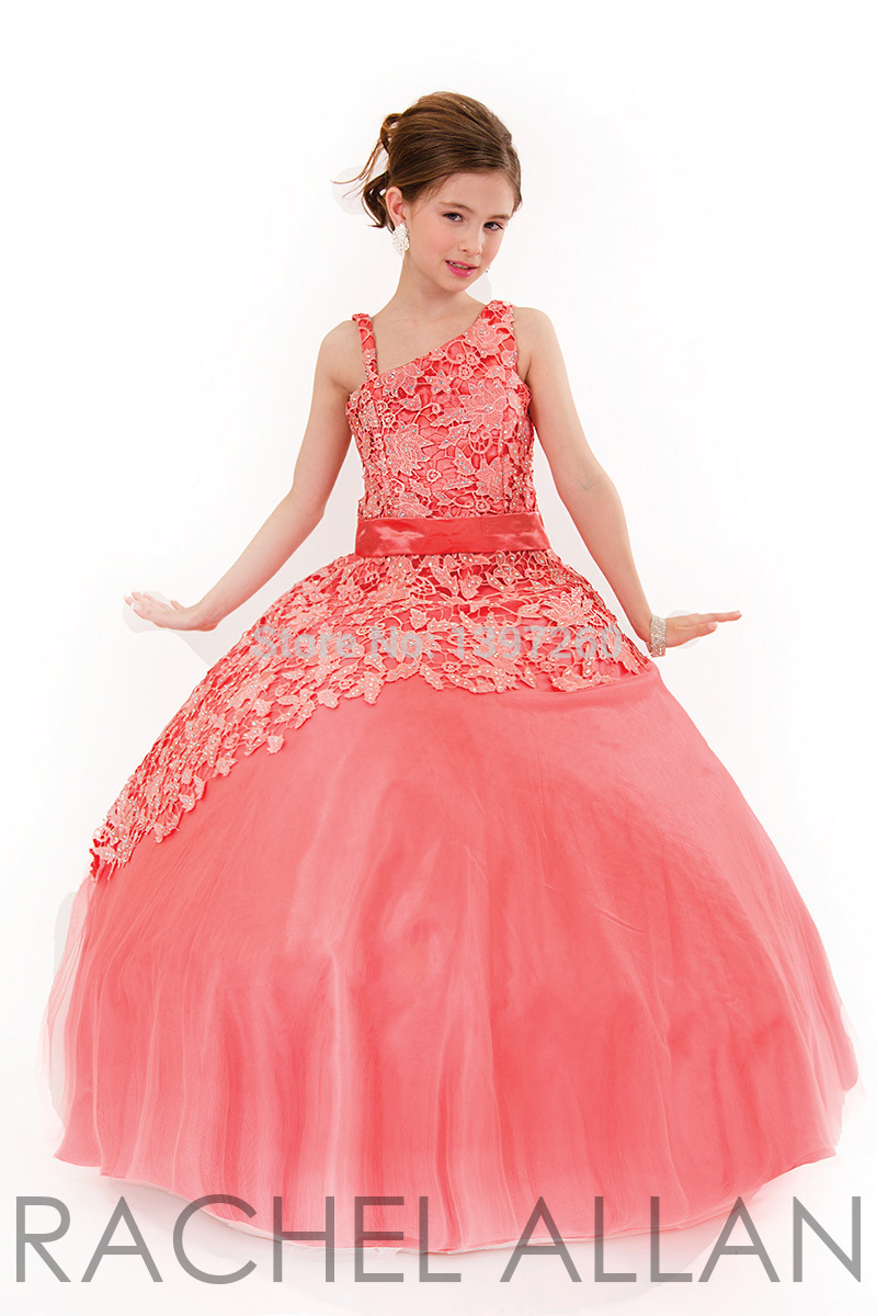 Little Girls Pageant Dresses 2015 Girls Formal Dresses Kids Ball