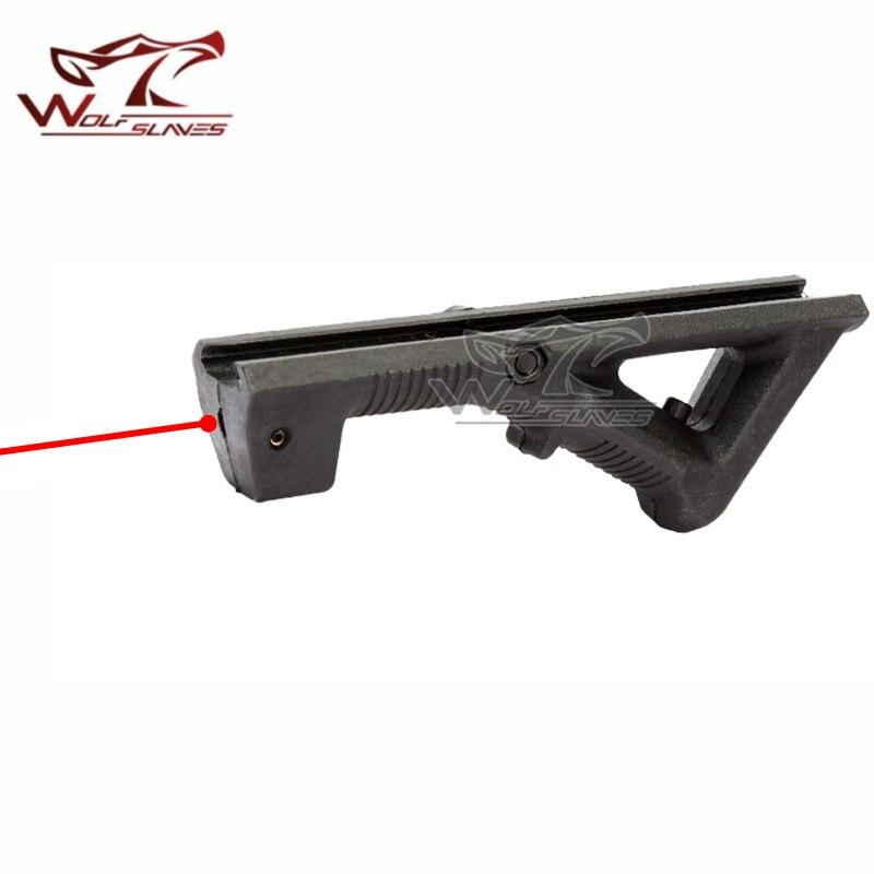 Wolfslaves AFG Laser Pointer Grip Accessories 20-21mm Guide Rail for Nerf Toy Gun Grip CS Cosplay Accessories