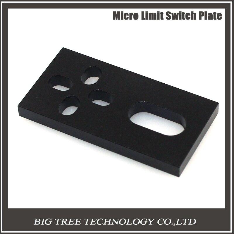 Aluminum Micro Limit Switch Plate fFor Openbuilds C-beam Printer Hardware Parts CNC V-slot Printer S