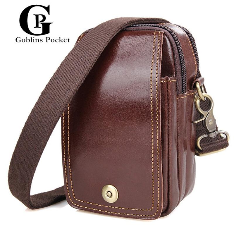 ФОТО Cowhide! BELT BAG For iPhone 6S plus Genuine Leather Small Messenger Bag Fashion Crossbody Leather Bag Casual Shoulder Designer