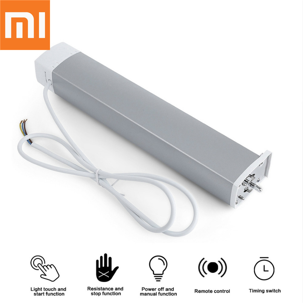 Original xiaomi Aqara Curtain motor with Curtain curtain Controler Zigbee wifi works For xiaomi smart home Mi home APP ewelink dooya electric curtain system curtain motor dt52e 45w remote control motorized aluminium curtain rail tracks 1m 6m