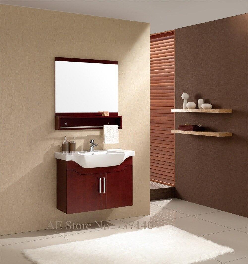 Tienda Online Mueble De Ba O Con Lavabo De Cer Mica Blanco Muebles  # Muebles Tocadores Modernos