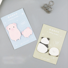 Get more info on the 1pcs kawaii round animal series weekly plan Sticky Notes Post Memo Pad Korean stationery School Supplies Planner Stickers