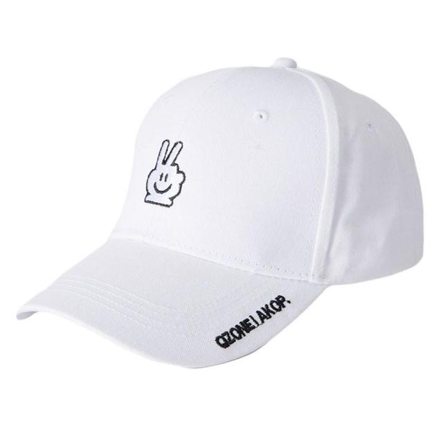 2b67e9b6daf66 2018 Unisex Sports Tennis Caps Simple Outdoor Adjustable Letter Embroidery  Baseball Tennis Hat 0816
