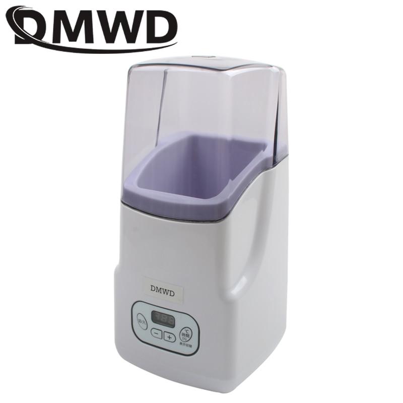 DMWD Electric Yogurt Maker Multifunction Full-Automatic Natto Fermenting Machine MINI Japanese Leben Yoghurt Fermenter 110V 220V