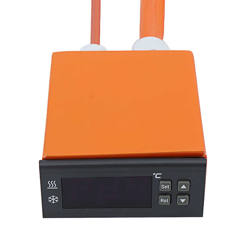 120 V/220 V 80 W Rodada Silicone Aquecedor Com Termostato LCD Controlador Digital de Silicone Almofadas de Aquecimento Elétrico 6 polegadas de Calor Mat