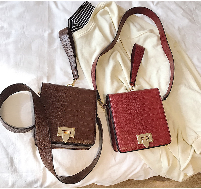 DIINOVIVO Fashion Alligator Female Handbags Designer Crossbody Bags for Women Small Square Bag Shoulder Messenger Purse WHDV0917 12
