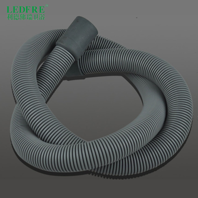 LDEFRE washing machine drain hose Extension Kit fit OD20 or 25 outlet fully automatic drum washing machine 2.5Feet to 50Feet