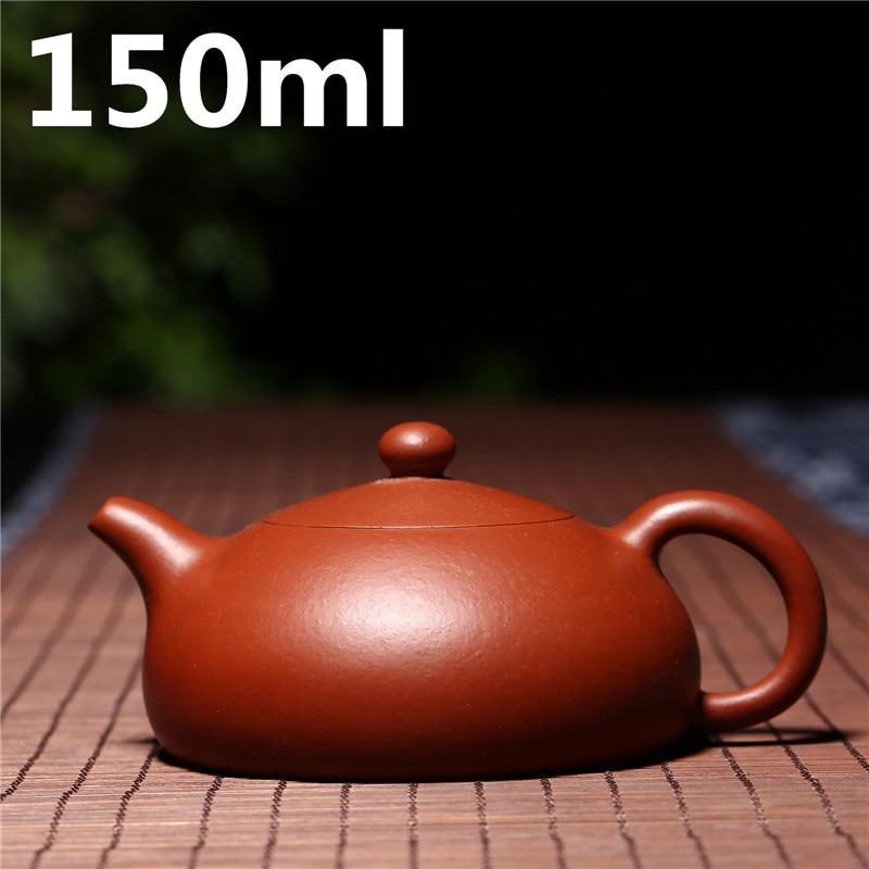 Ceramic Tea Set Coffee Cups 150ml Teapot Yixing Zisha Clay Purple Chinese Porcelain Handmade Tea Pot Pottery China Tea Sets