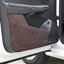 Замша 4 двери анти-удар коврик для Volkswagen New Polo 2011 12 13 14 15 16 17 AB305