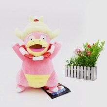 10 PCS/Lot Anime Peluche Slowking Stuffed Plush Cartoon Dolls Hot Christmas Gift Baby Toys For Children 26 cm