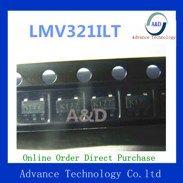 Original LMV321ILT IC OP AMP SGL R-R I/O LP SOT23-5 IC chip