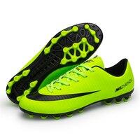 934097d7802 New Professional Futbol Soccer Shoes Men Women Artificial Grass Ground  Outdoor Sports Football Boots Training Sneakers