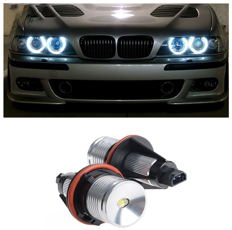 For BMW 5 Series E60 White LED /'Trade/' Wide Angle Side Light Bulbs Pair