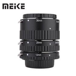 Meike Auto Focus Macro Extension Tube Set Ring N-AF1-B for Nikon D7100 D7200 D7000 D5200 D5300 D3100 D3300 D800 D600 D90 D80