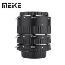 Meike Otomatik Odak Makro Uzatma Tüpü Seti Yüzük N-AF1-B Nikon D7100 D7200 D7000 D5200 D5300 D3100 D3300 D800 D600 d90 D80