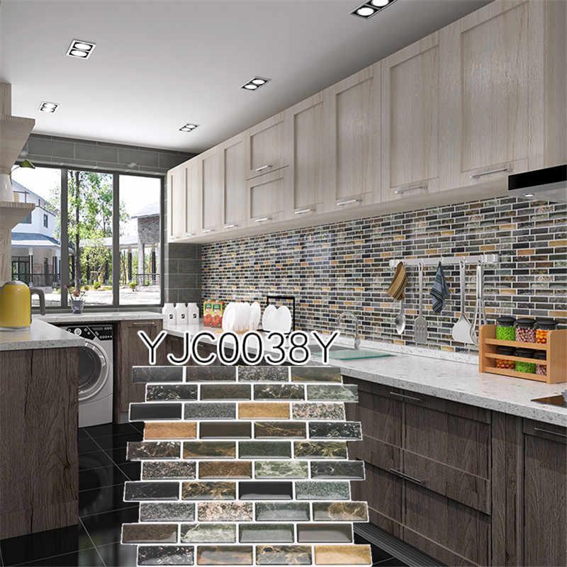 """ห้องครัวกระเบื้องผนัง Decaks Art Decor ขายร้อนง่ายลบ Wall Decor Home Decor 9.3 """"x 9.3"""""""