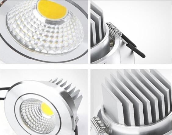 Downlights epistar led lâmpada do teto Fonte de Energia : ca
