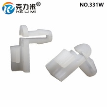 KE LI MI 100 Pieces Automobile parts Door Lock Rod Clips White Nylon Auto