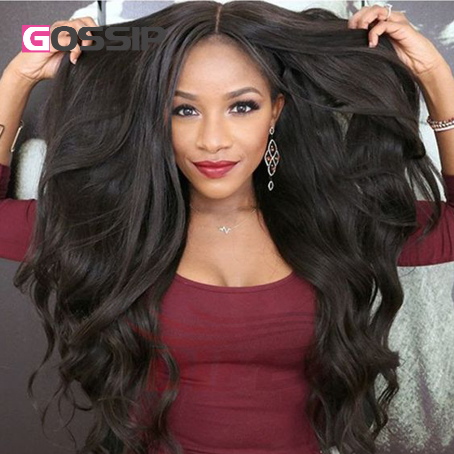 Human Lace Front Wig With Baby Hair 7A Peruvian Hair Wig Peruvian Body Wave Full Lace
