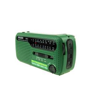 Image 5 - ديجن DE13 FM AM SW راديو كرنك دينامو الطاقة الشمسية في حالات الطوارئ راديو الرجعية A0798A استقبال العالم المحمولة راديو الإنترنت