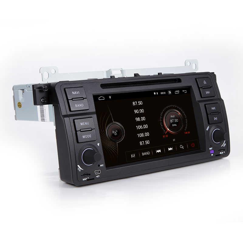 Xonrich 1 Din Android 9,0 Автомобильный DVD плеер для BMW E46 M3 Rover 75 купе навигация Радио gps мультимедиа 318/320/325/330/335 аудио