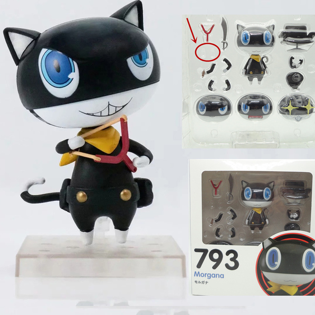 Nendoroid Persona 5 Morgana 793 PVC Action Figure Model Toy Doll Christmas Gift