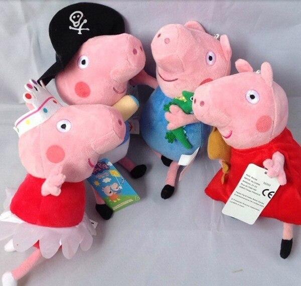 <b>2018 HOT NEW</b> 22cm 1pcs pink pig plush toys stuffed <b>Christmas gift</b> ...