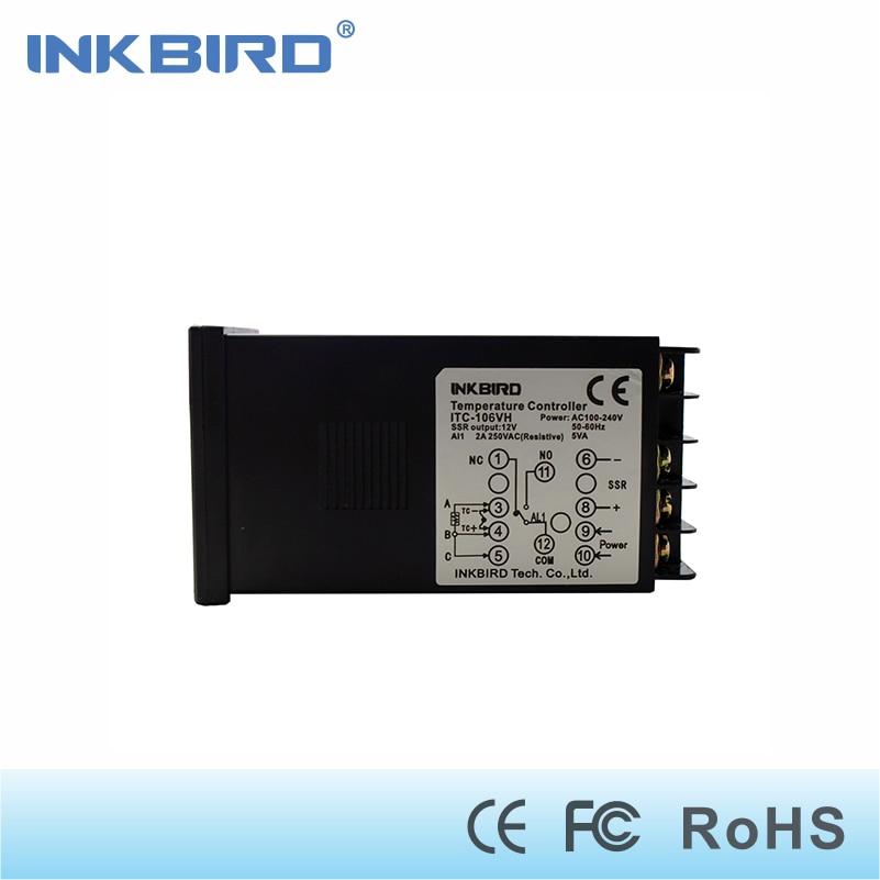 Inkbird ITC-106VH PID termosztátvezérlők, Fahrenheit és - Mérőműszerek - Fénykép 3