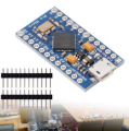 CFSUNBIRD With the bootloader New Pro Micro for arduino ATmega32U4 5V/16MHz Module with 2 row pin header For Leonardo