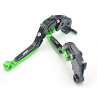 Motorcycle Accessories Parts Brake Adjustable Brake Clutch Levers For Kawasaki ZX 6R 636R 6RR 12R 9R 2000 2001 2002 2003