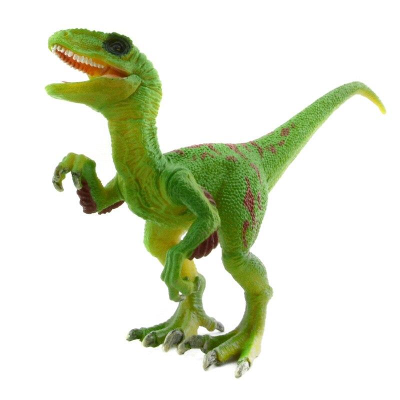 Jurassic Park 3 Velociraptor Toy Starz PVC Green Veloci...