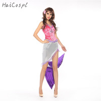 Mermaid Cosplay Costume Women Fantasy Stage Performance Dresses Fish Disguise Halloween Female Adult Fancy Party Beach Suit