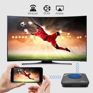 Image 4 - Mecool 3GB 32GB تي في بوكس أندرويد الذكية TVbox Amlogic S912 2.4G 5G واي فاي بلوتوث مروحة مجموعة صندوق فوقي 4K تدفق M8S ماكس مشغل الوسائط