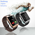 Dz09 smart watch para apple telefone android sim suporte tf pk gt08 u8 smartwatch reloj inteligente wearable inteligente eletrônica estoque