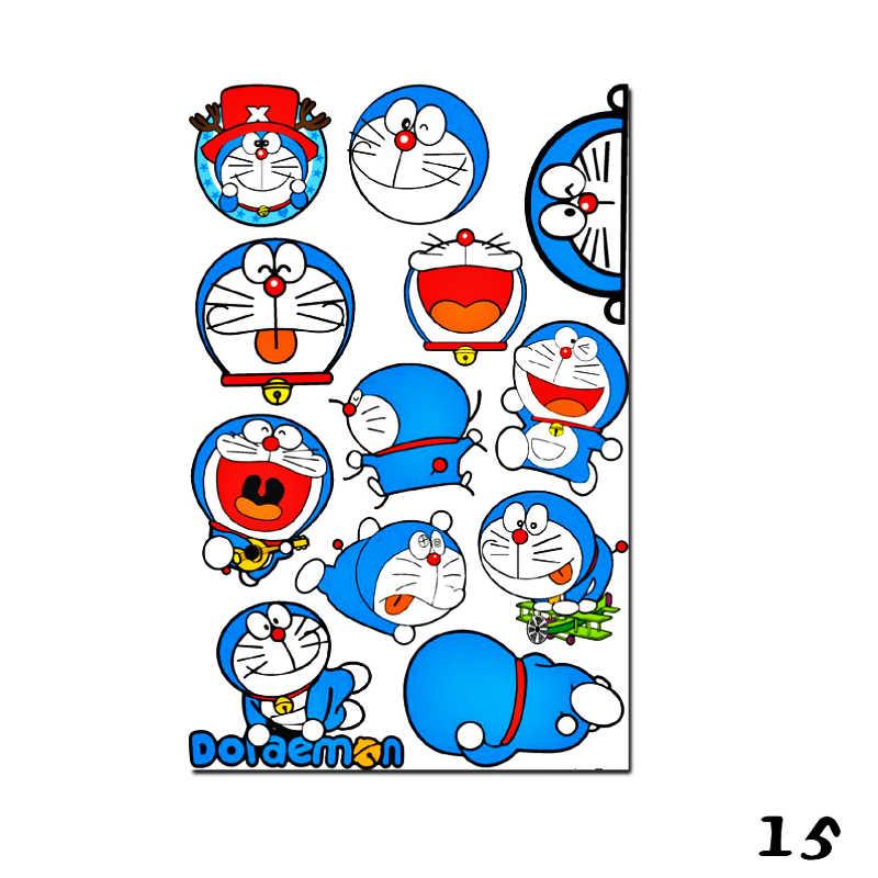 Autocollant de voiture Etie dessin animé Doraemon Graffiti vinyle autocollant pour Ford Mondeo MK4 Focus 2 3 c-max s-max Ranger Kuga Transit bagages