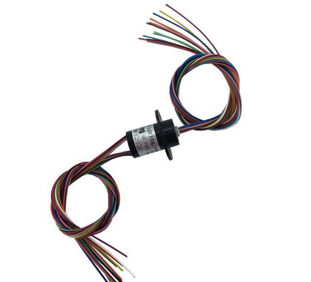 M schleifring Mini Kapsel schleifring Dia.12.5mm 12 Kanal 2A MSM 12 ...