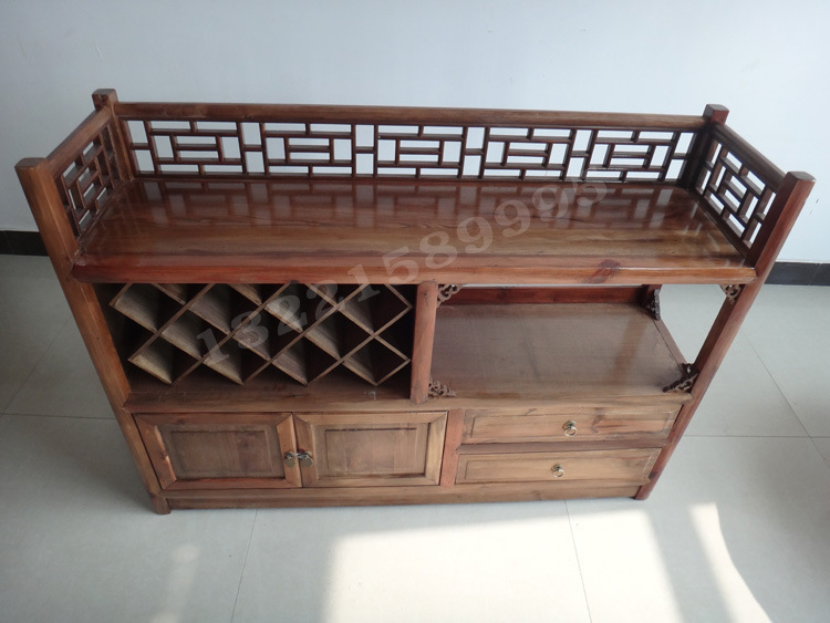 Tweedehands Antieke Meubels : Ming en qing antieke meubelen klassieke chinese iep hout bar rode