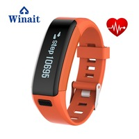 Winait Touch Screen F1 Smart Bracelet With Heart Rate Detection Movement Mileage Record Sleep Monitoring