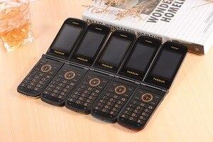 Image 2 - Teléfono de lujo para personas mayores TKEXUN G9000 G3, gran sonido teclado grande, linterna de 1600mAh, bluetooth, teléfono móvil para personas mayores