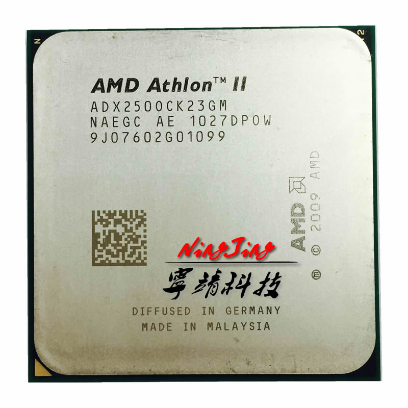 Процессор AMD Athlon II X2 250 3 ГГц двухъядерный Процессор процессор adx250ock23gq/adx250ock23gm Socket AM3