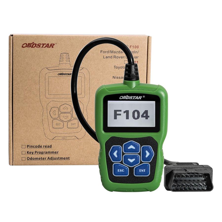 Цена за 2017 OBDSTAR F104 Программист Ключи от Машины для Chrysler/Jeep/Dodge с Одометра и Pin Code Reader Поддержка Функции новые Модели