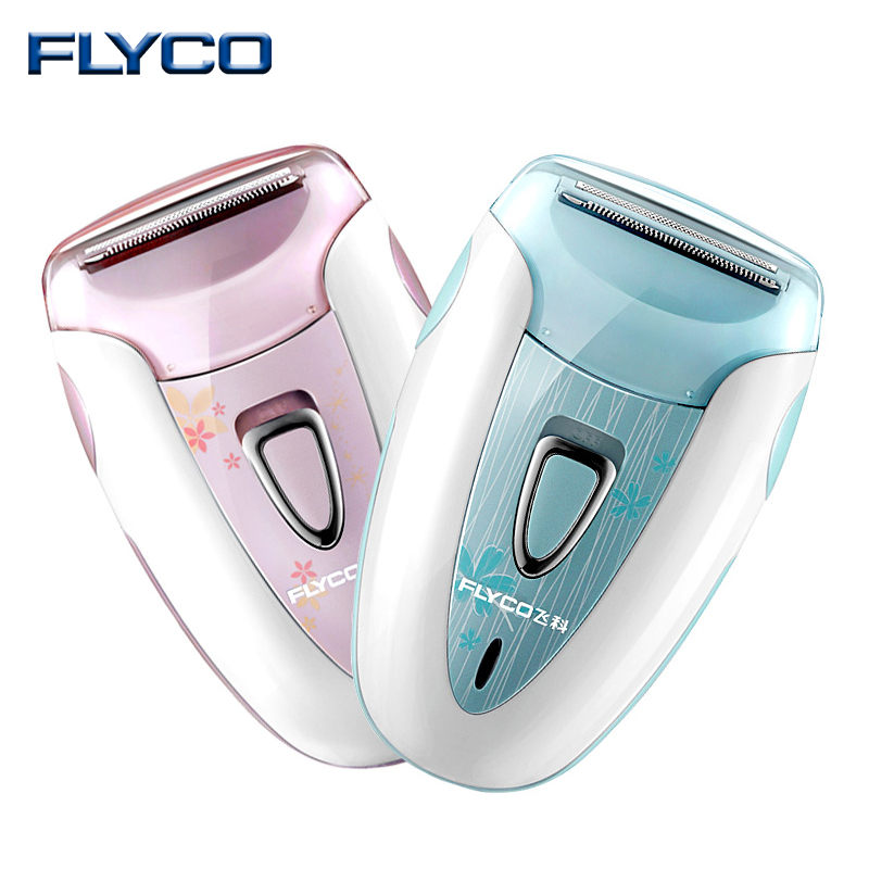FLYCO New Women Shave Wool Device Knife Electric Shaver Wool Epilator Shaving Lady's Shaver Female Care FS7208 FS7209 kemei2530 new 4 in 1 women shave wool device knife electric shaver wool epilator shaving lady s shaver female care